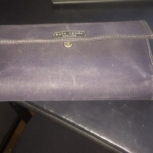 Kate spade cotton wallet